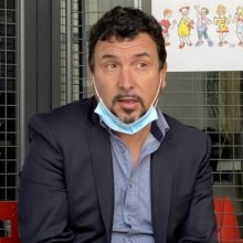 Photo Alain Gherardi Président de la Scola Corsa di Biguglia