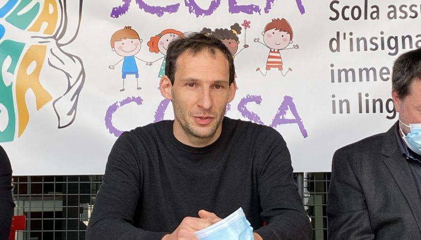 Photo Pasquale Castellani Président de Scola Corsa di Bastia
